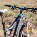 Fox DOSS seat post mounted on a Santa Cruz Blur TRc