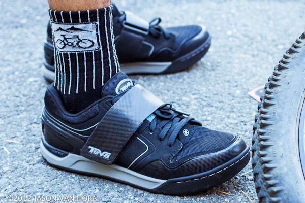 Pre-production Teva Pivot Spd compatible shoes