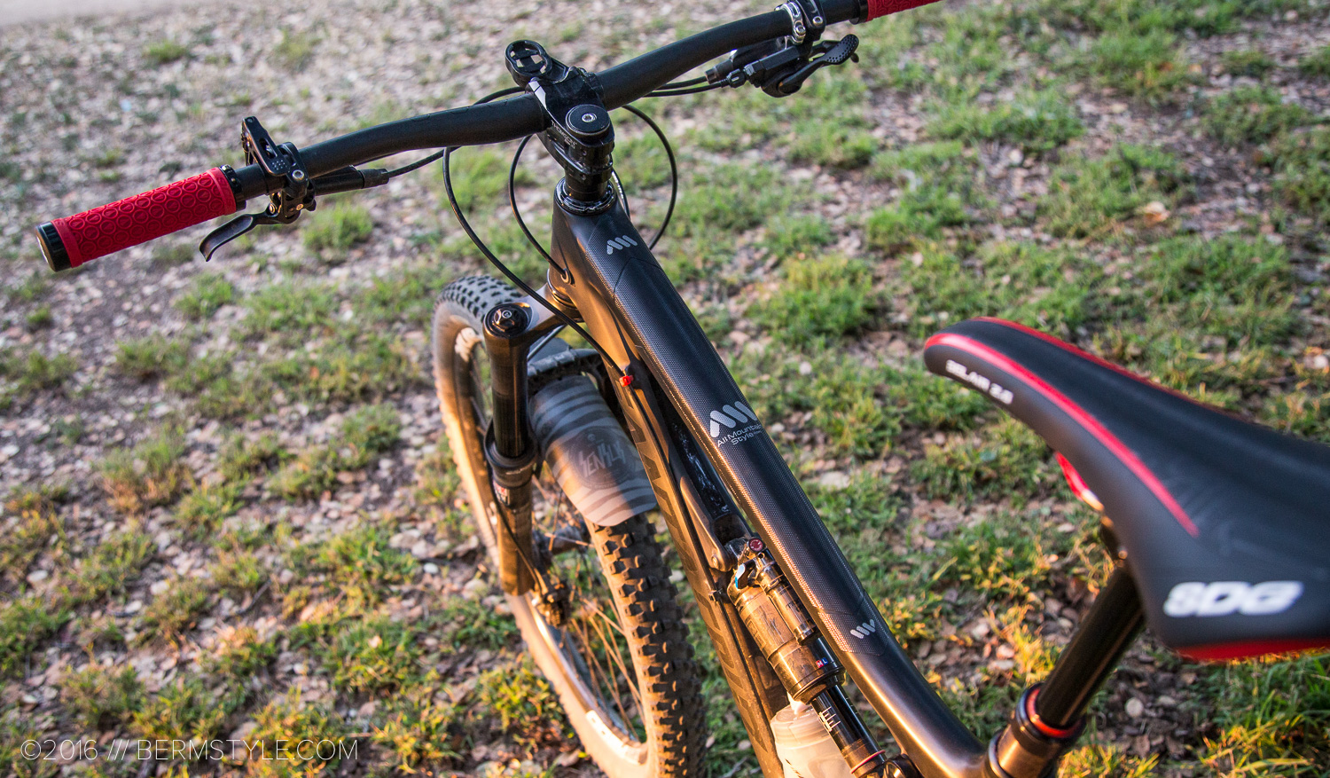 Review All Mountain Style Honeycomb Frame Guard