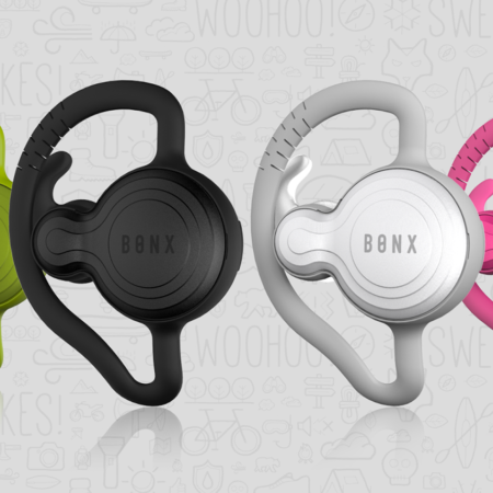 image for Bonx Grip Bluetooth Earpiece for Hands-free Group Talk
