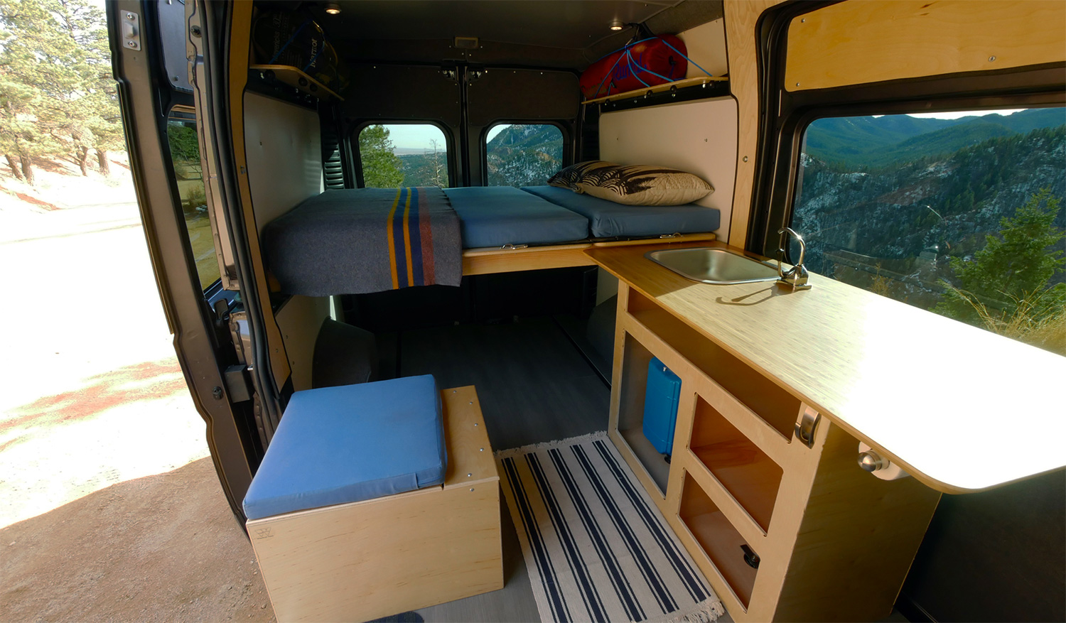 Wayfarer Vans Plug N Play Camper Conversion Kits