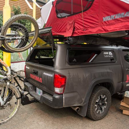 image for Yakima HangOver Vertical Bike Rack