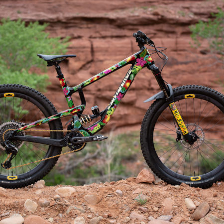 image for Bike Check: Tec-GNAR Custom Painted Nomad + GNAR Trail Tool