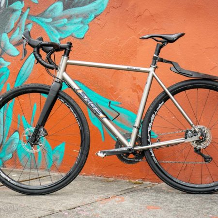image for Sage Barlow Gravel Bike — Titanium do-it-all road machine