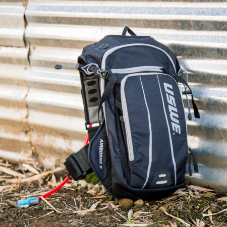 image for Review: USWE Airborne Low-profile Hydration Pack 9L