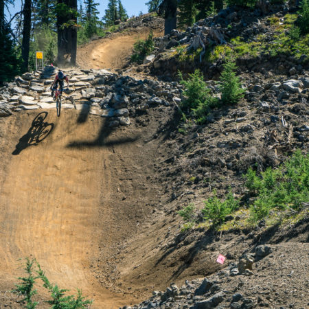 image for Riding the new Redline Trail at the Mt. Bachelor Bike Park