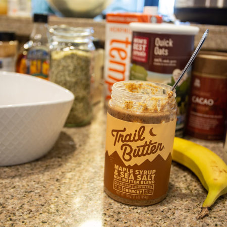 image for Recipe: Trail Butter Superfood Oatmeal