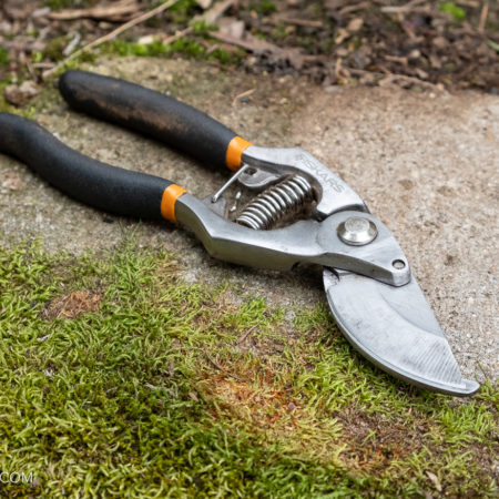 image for Fiskar Pruning Shears: PNW trail maintenance tool