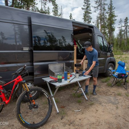 image for Review: Camco Fold-away Aluminum Camp Table