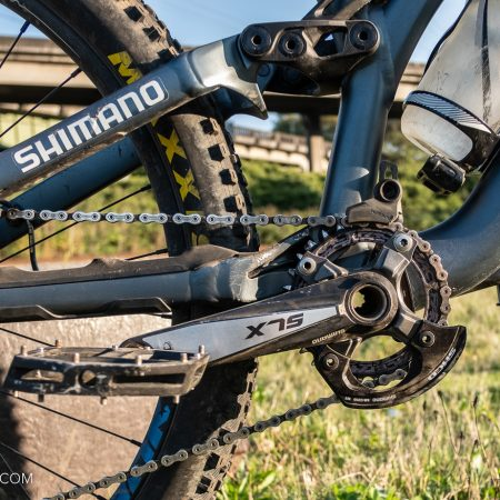 image for Shimano's SMCD Modular Chain Device: a bash solution for 2-bolt ISCG-05 frames