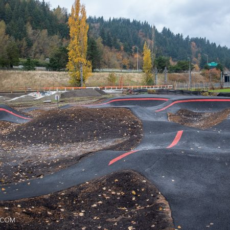 image for It's official – an asphalt Velosolutions Pumptrack  in Portland, OR